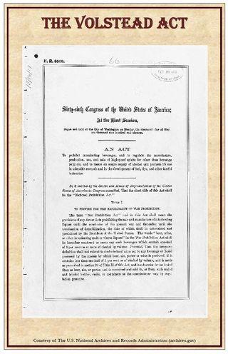 The Volstead Act