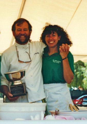 James and Annie, champs at the 1990 Bouillabaisse Festival 2
