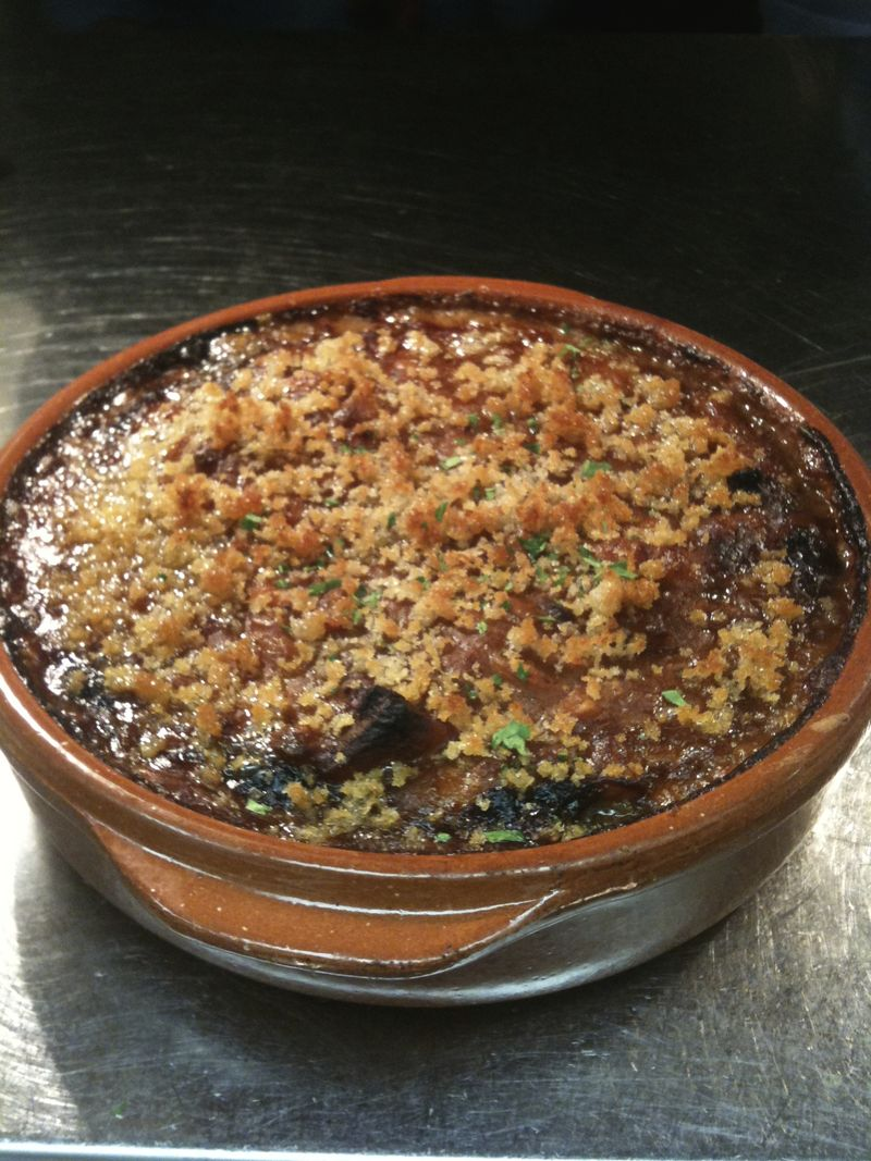 Cassoulet at Sly's